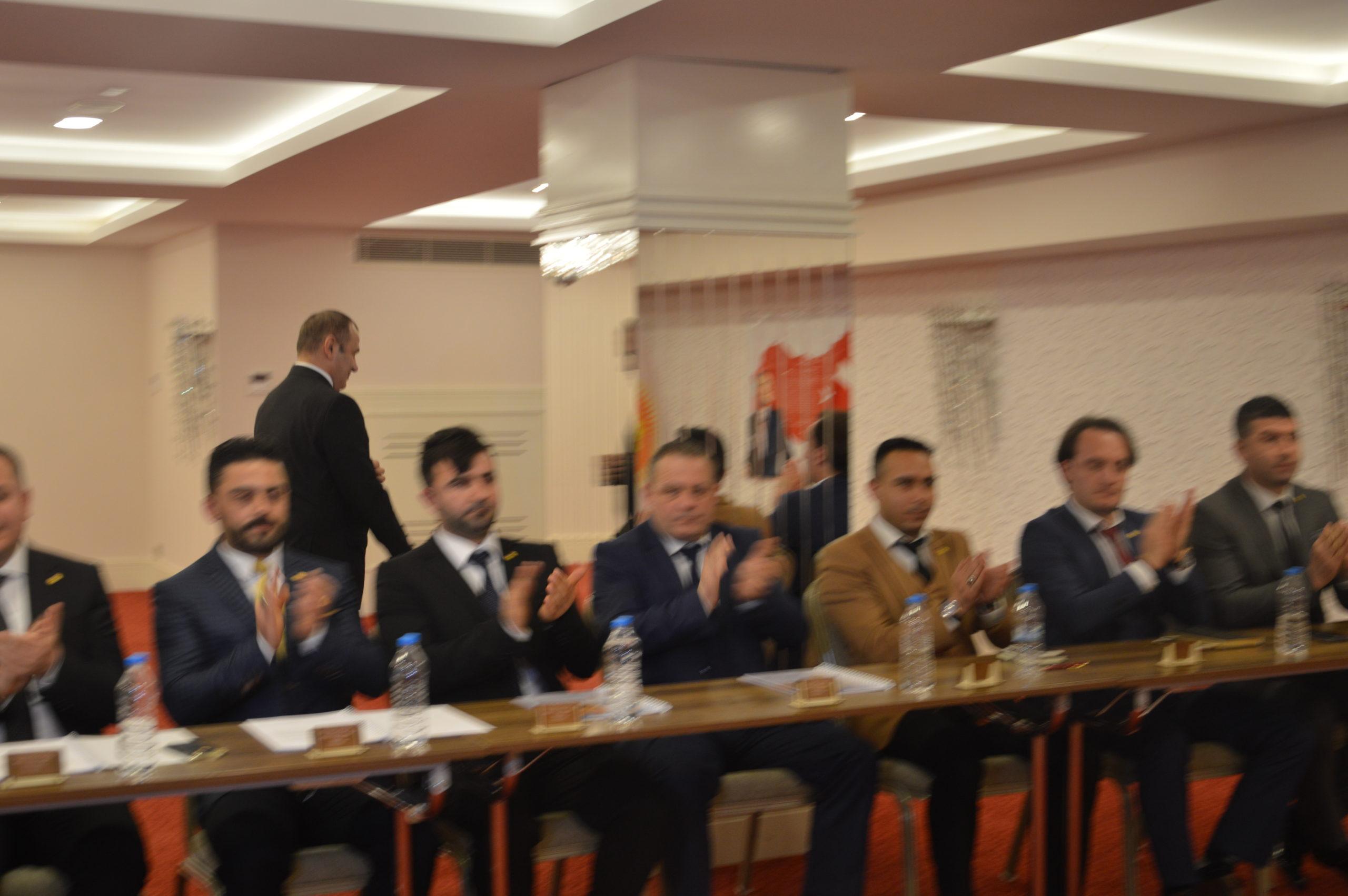 Mersin İl Başkanları Toplantısı